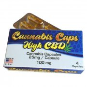 High CBD Capsules by Cannabis Caps